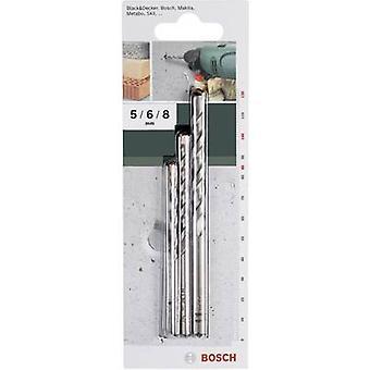 Carbide metal Concrete twist drill bit set 3-piece Bosch Accessories 2609255416 Cylinder shank 1 Set