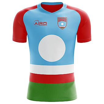 2018-2019 Jakoetië Republiek Home Concept voetbalshirt