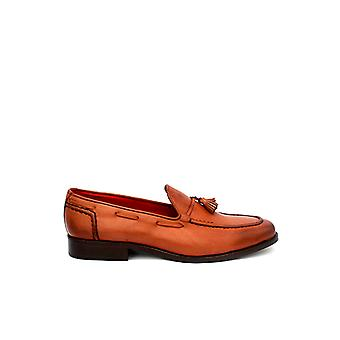 Handcrafted Premium Leather Beasley Brown Loafer