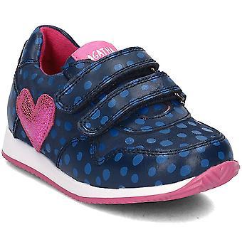 Agatha Ruiz De La Prada 181926 181926AAZULYPUNTOS universal hele året spædbørn sko