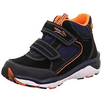 Superfit jongens Sport 5 9239-00 Gore-tex waterdichte laarzen zwart oranje