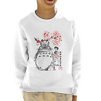 Sweatshirt de mon voisin Totoro Sumie Kid