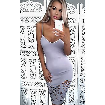 IKRUSH Womens Penny Cut Out Bodycon Dress