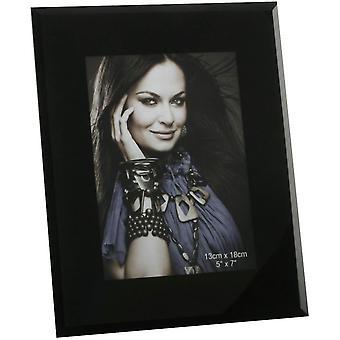 Juliana visninger Glass ren Design foto rammen 5 x 7 - svart