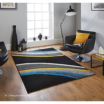 Portland Meridian Black tæppe