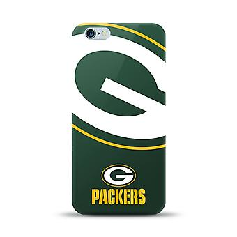 5 Pack -Mizco Sports NFL Oversized Snapback TPU Case for Apple iPhone 6 Plus / 6S Plus (Greenbay Packers)