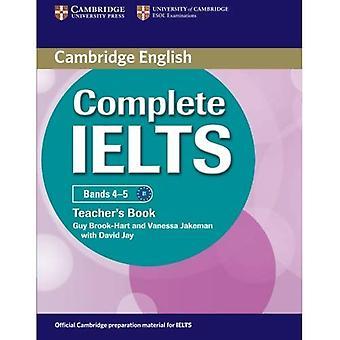 Komplet IELTS Bands 4-5 Lærerens bog