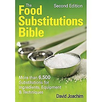 Mat substitutioner Bibeln: mer än 5.500 ersテ、ttningar fテカr ingredienser, utrustning & tekniker (... Bibeln