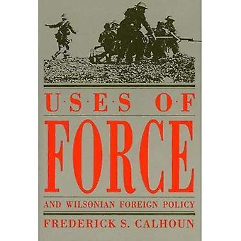 Gebruik van geweld en Wilsons buitenlandbeleid (Amerikaanse diplomatieke geschiedenis)