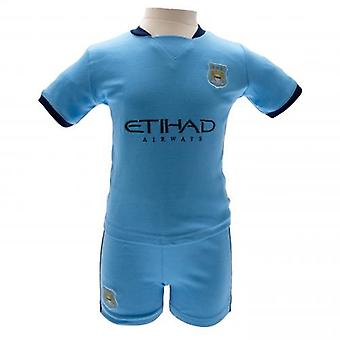 Manchester City Shirt & Short Set 6/9 mths