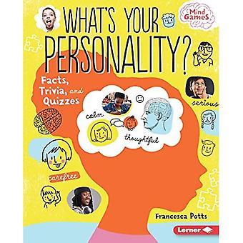 ¿Cuál es tu personalidad?: hechos, preguntas y cuestionarios (juegos mentales)