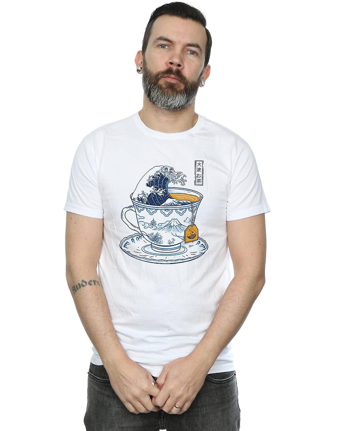 Vincent Trinidad Men's The Great Kanagawa Tea T-Shirt