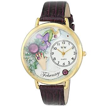 Whimsical Watches unisex wrist watch G-0910002-, skin color: multicolor