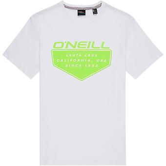Camiseta O'Neill hombres ~ Cruz blanco