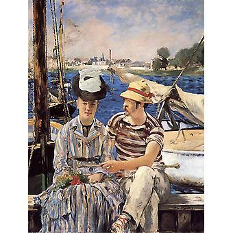 Argenteuil, Edouard Manet, 50x38cm