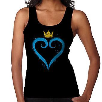 Kingdom Hearts Vest couronne coeur féminin