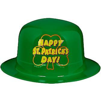 Plastic Hat For St Patricks Day! 5 Pk