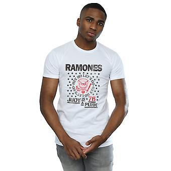 Ramones الرجال & apos;ق جودي هو فاسق تي شيرت
