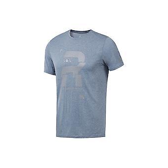 Reebok reflektierende Tee DN3333 Training das ganze Jahr Männer T-shirt