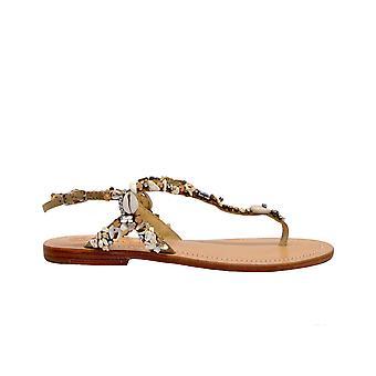 Malparmi Sx04609027311000 Sandales en cuir multicolores