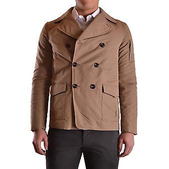 Geospirit Ezbc203029 Men's Beige Cotton Outerwear Jacket