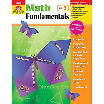 Math Fundamentals - Grade 5 by Evan-Moor Educational Publishers - 978