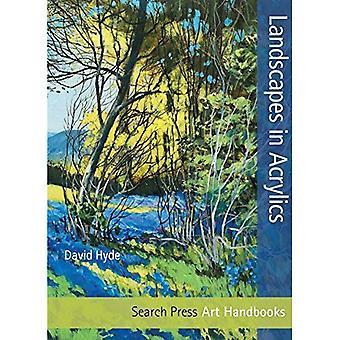 Landskaber i akryl (kunst håndbøger)
