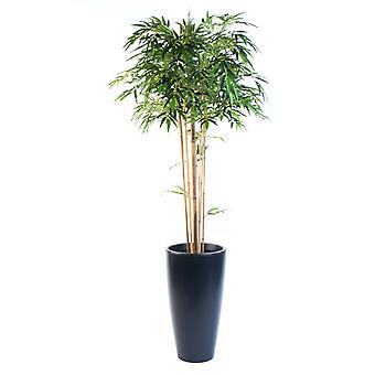 Artificial Silk Bamboo Mophead Tree FR
