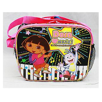 Geantă de prânz-Dora Explorer-Dora Love muzica New case de21479