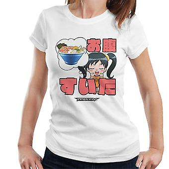 Tekken So Hungry Chibi Ling Xiaoyu Women's T-Shirt