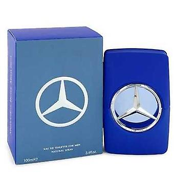 Mercedes Benz man blauw door Mercedes Benz Eau de Toilette Spray 3,4 oz (mannen) V728-546115