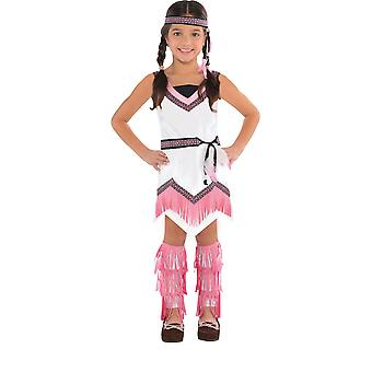 Filles Native American Spirit Fancy Dress Costume