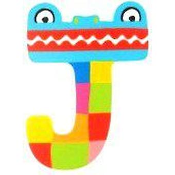 Tatiri WoodenLetterAnimalAlphabetH7CmJ (babies and children, toys, other)
