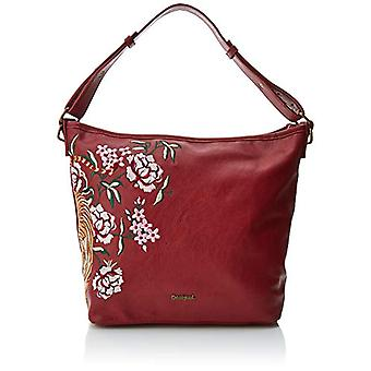 Desigual Bols_red Astun - Red Women's Shoulder Bags (Carmin) 12x27x25 cm (B x H T)