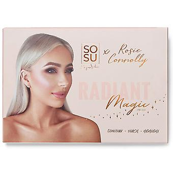 SOSUbySJ Rosie Connolly Radiant Magic Contour Palette