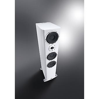 B Ware Heco Elementa 700 3-Wege Bassreflex Lautsprecher weiß/seidenmatt, 1 Stück