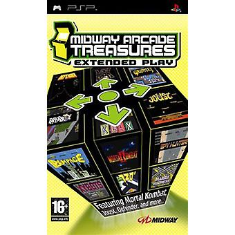 Midway Arcade Treasures Extended Play (PSP)-nytt