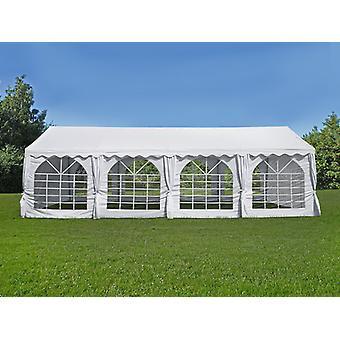 Tente de réception UNICO 5x8m, Blanc