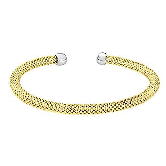 Citerna Women's Bracelet - Silver and Yellow Gold Plated 925