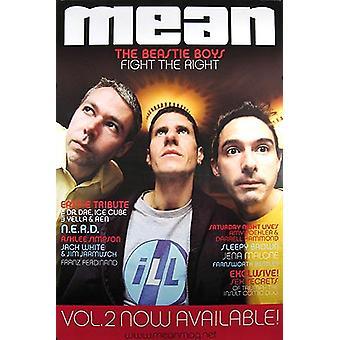 Die Beastie Boys (Mean Magazine Cover) Original Musik Poster