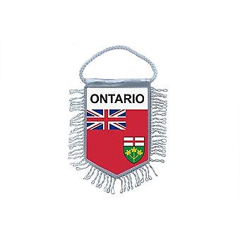 Flag Mini Flag Country Car Decoration States Region Canada Ontario