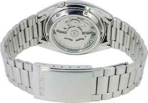 Seiko 5 Automatic White Dial Stainless Steel Men's Watch SNXG47K1