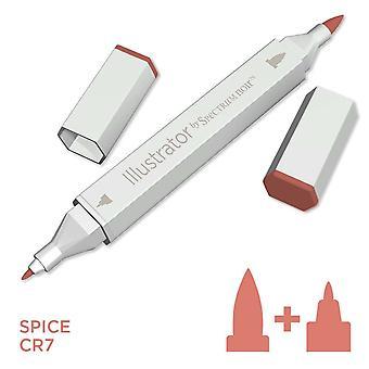 Illustrator door spectrum Noir één pen-Spice