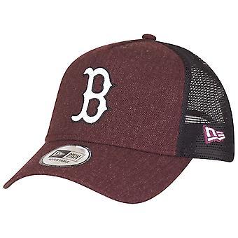 """عصر جديد للتعديل قبعة سائق الشاحنة-المارون """"هيذر بوسطن الجوارب"""""""