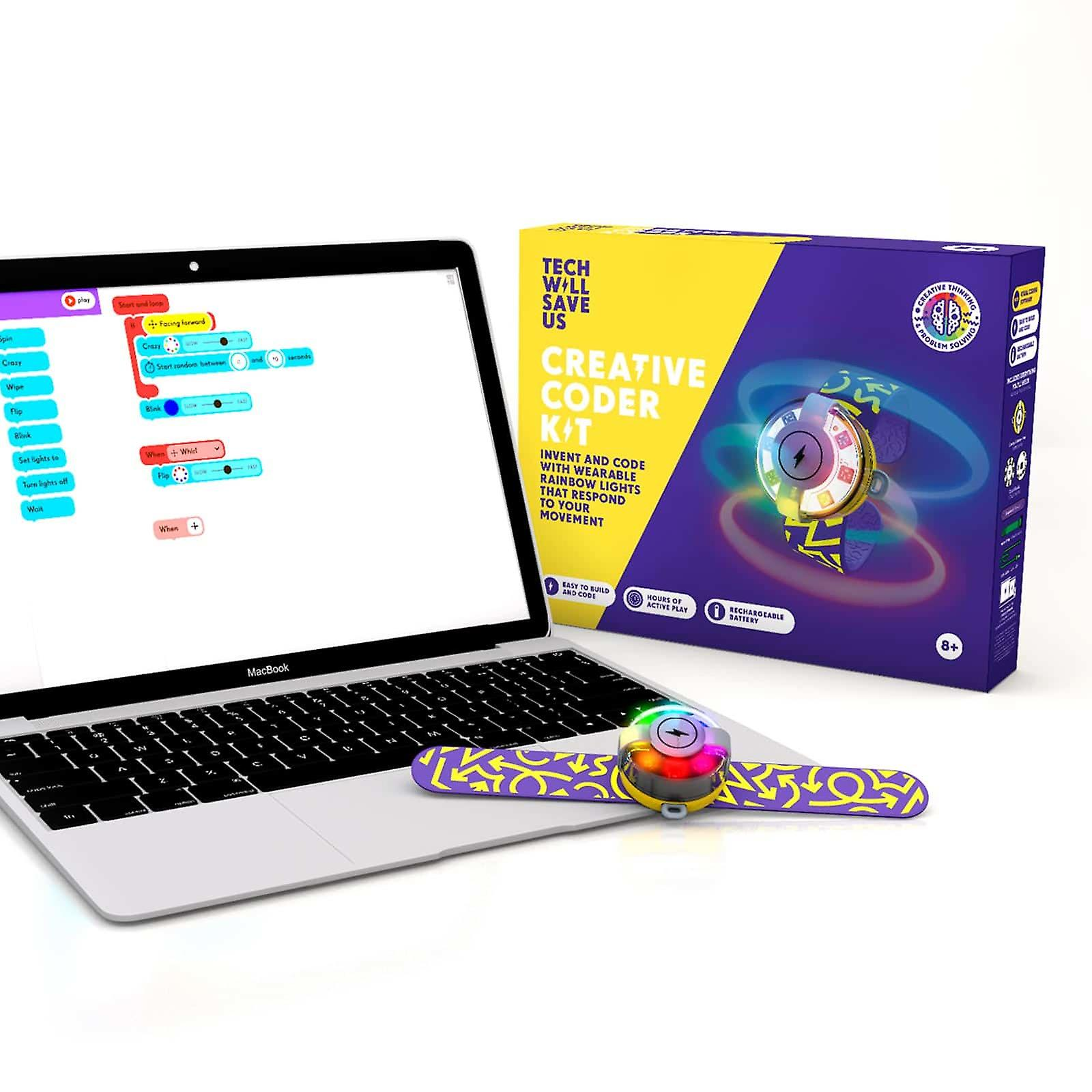 Tech Will Save Us Creative Coder Education 6 Pack | For Teachers, Workshops and Schools