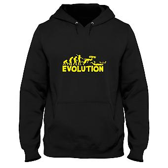 Black man hoodie evo0012 evolution humor