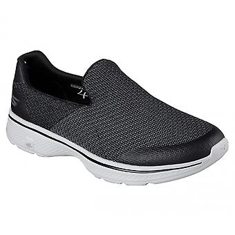 Skechers Go Walk 4 Expert Mens Trainers Black/grey
