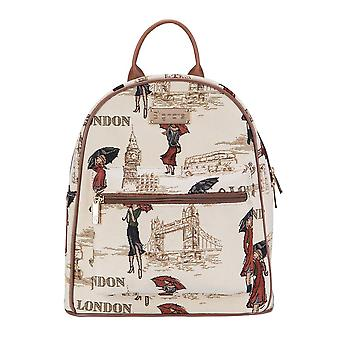 Miss london casual daypack by signare tapestry / dapk-msln