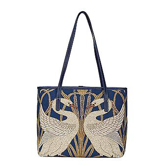 Walter Crane-Swan olka laukku, jonka signare Tapestry/Coll-Art-WC-Swan