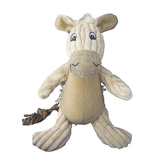"""Petlou Natural Twisted Donkey 10""""- Dog Toy"""